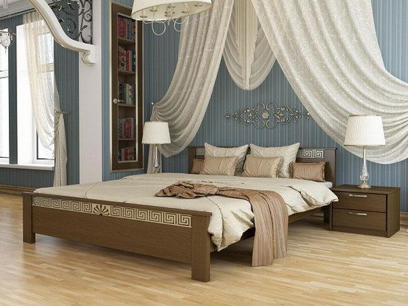 Кровать «Афина» (масив)